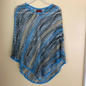 Metallic Missoni Poncho